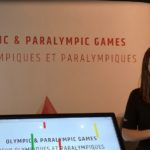 Kate in the Paralympic Gallery